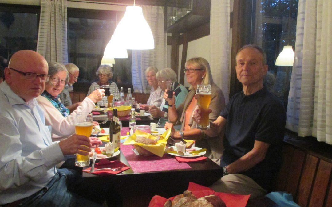 Rückblick: Kulinarischer Abend beim SCW am 29.09.2017