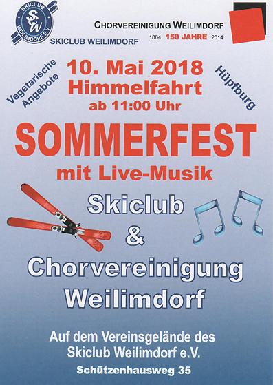 Sommerfest beim SC Weilimdorf am 10.05.2018