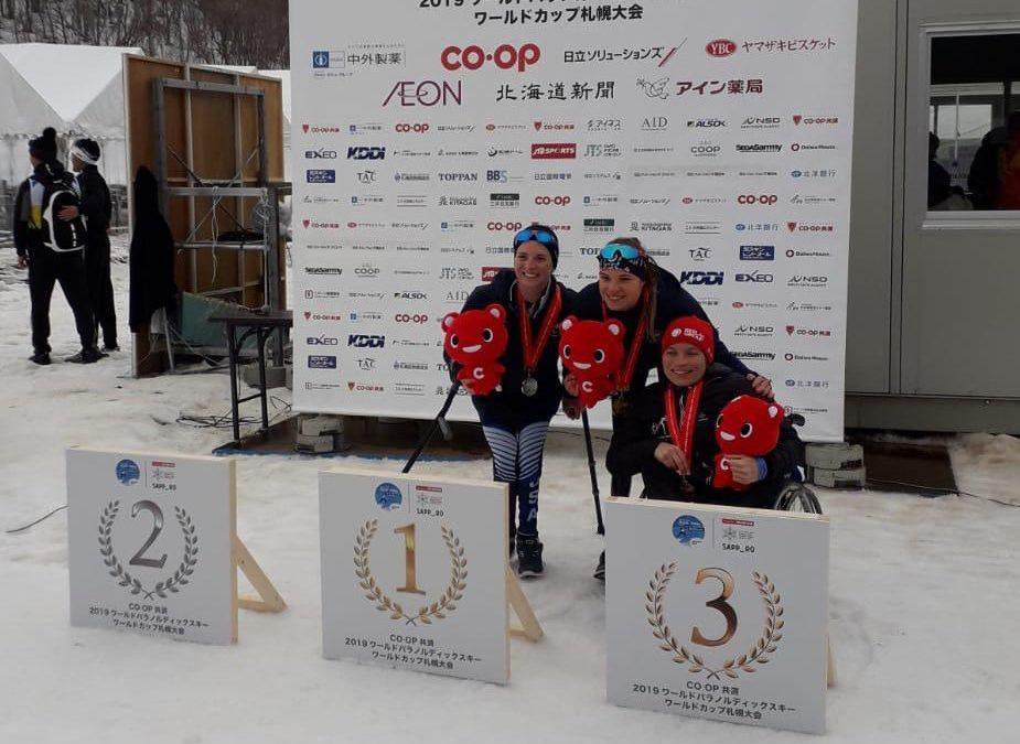 Zwei Podiumsplätze für Anja Wicker beim Weltcupfinale in Sapporo