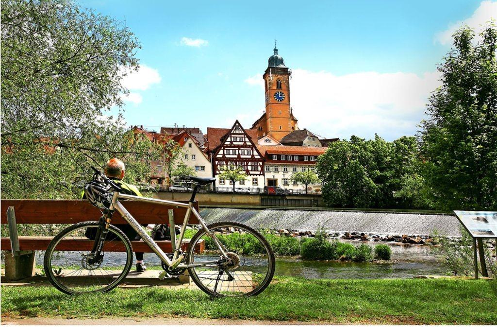 Sommerprogramm der Skiabteilung: Drei Radtouren mit Roland und Wolfgang